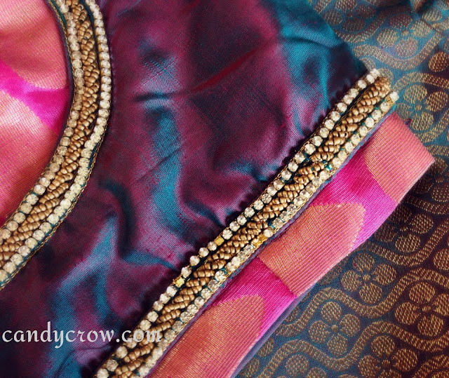 new Blouse design Silk Saree Blouse Design | Diwali Shopping