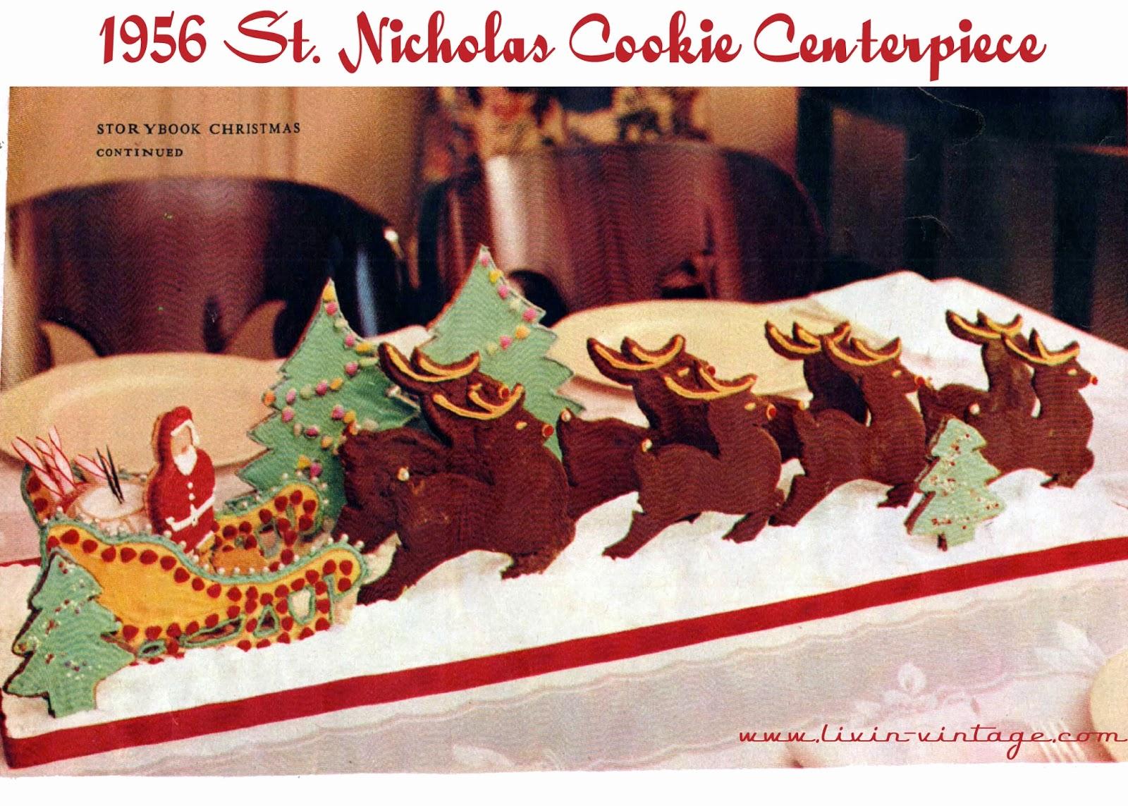 Make A Santa's Sleigh Cookie Centerpiece This Christmas