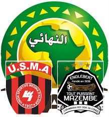 مباراة اتحاد الجزائر ومازيمبي