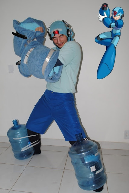 CosPOBRE Megaman