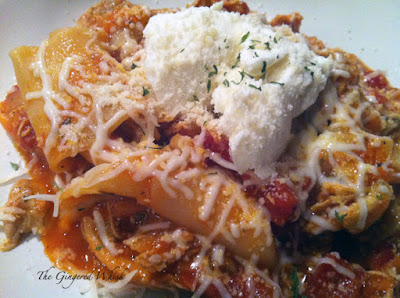 Stovetop Chicken Lasagna Stew - The Gingered Whisk