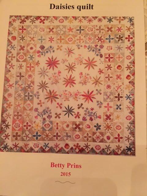 Wij verkopen het patroon De Daisies van Betty Prins