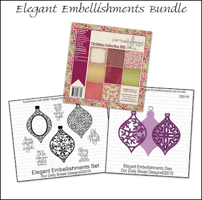 Our Daily Bread Designs Elegant Embellishments Bundle