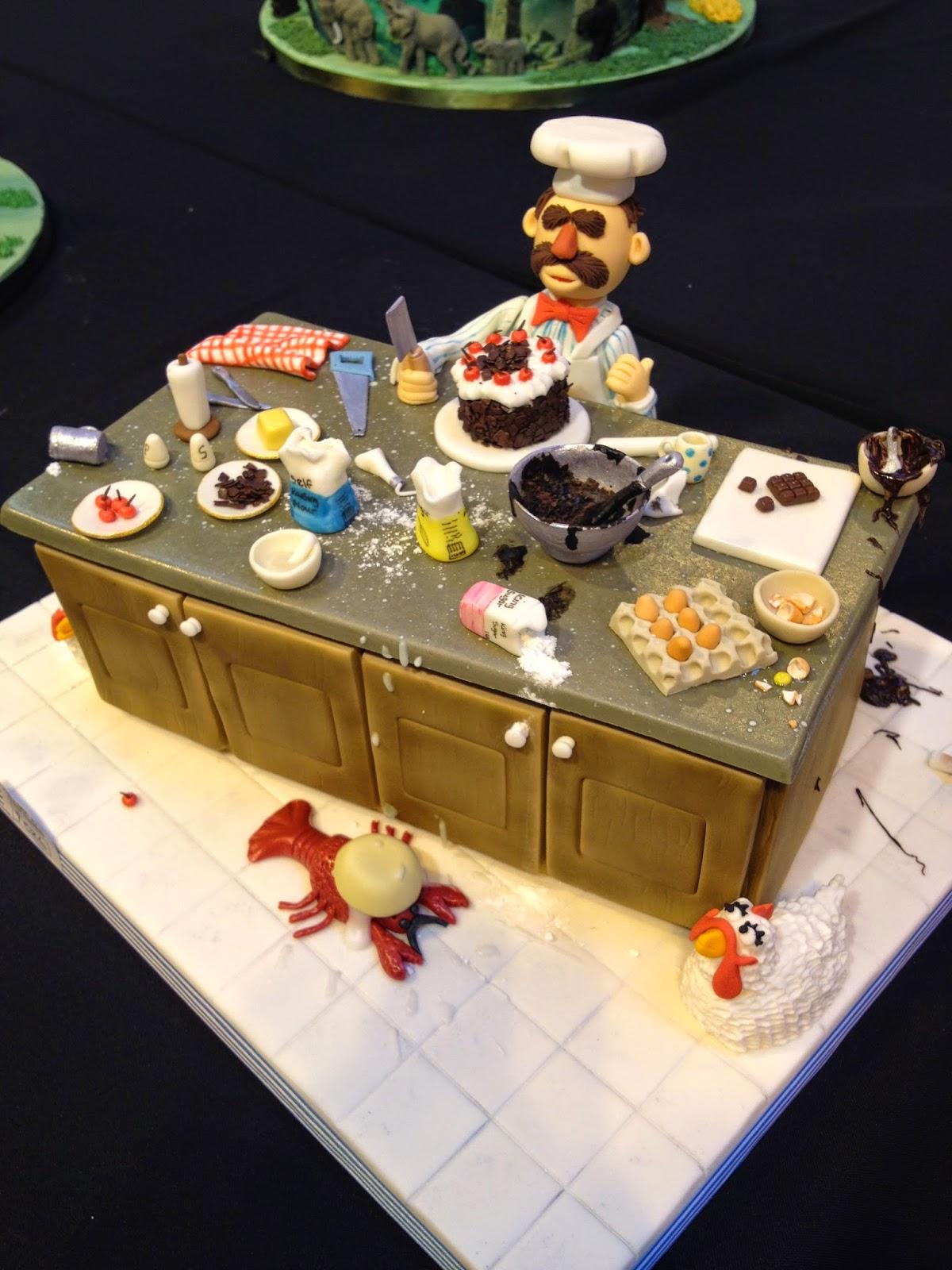 Muppet Chef Cake