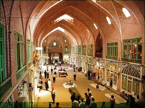 Tabriz bazaar Iran