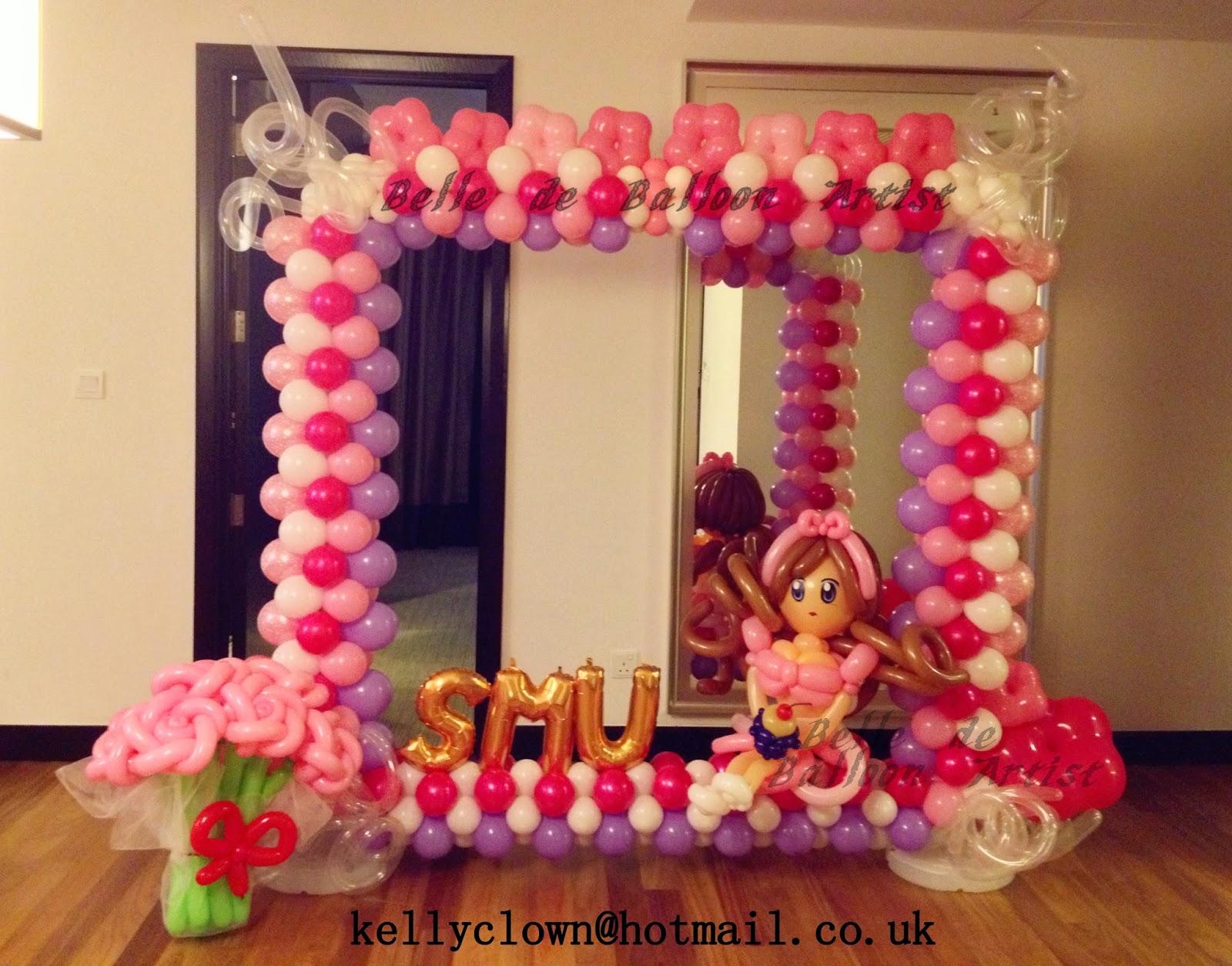 next this is birthday balloon frame for futureman