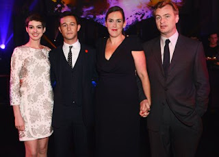 Anne Hathaway & Co. Celebrate at 'Dark Knight Rises' Afterparty » Gossip | Anne Hathaway