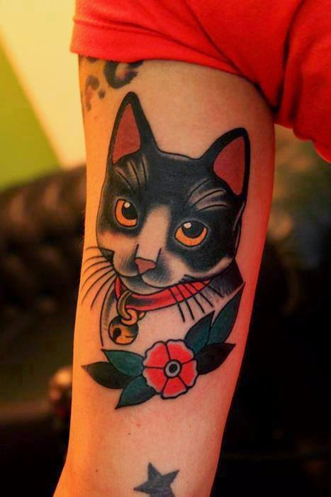 Pets Tattoos On Arms
