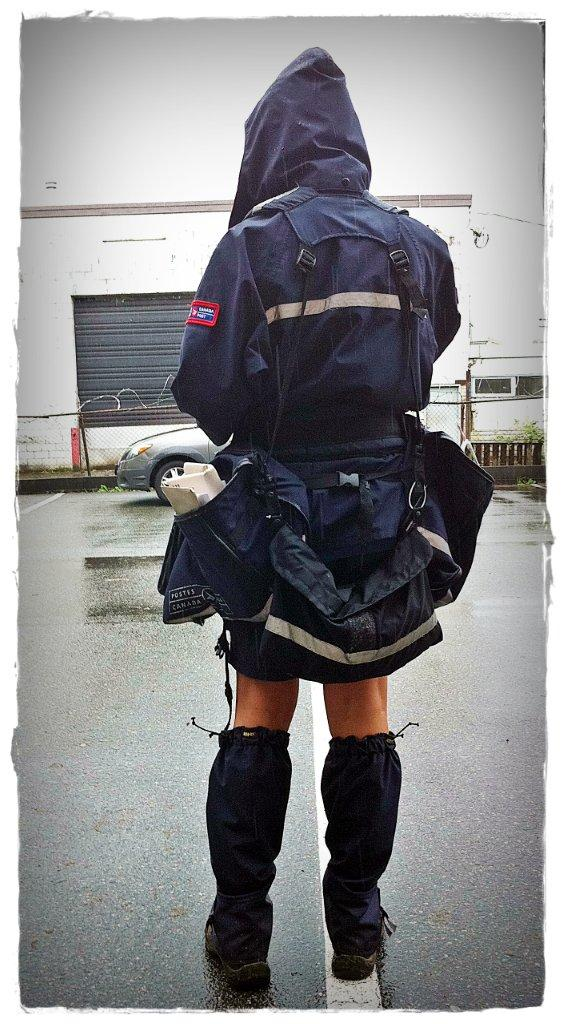 fashionable canada post letter carrier