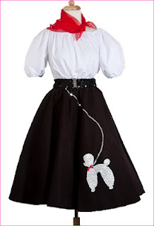 Hey Viv Poodle Skirt at www.HeyViv.com