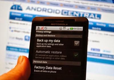 Cara Reset Ulang Smartphone Android Seperti Baru