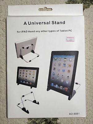 iPad、アンドロイドタブレット用ユニバーサルスタンド