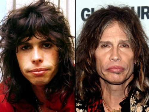 Antes / Despues Aging-rock-stars-old-young-38