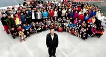 Ziona Chana largest family picture, World's biggest family photo, World's biggest family world record, biggest family in the world, Ziona Chana family video, World's largest family 2011, largest family in the world, World's biggest family guinness world record