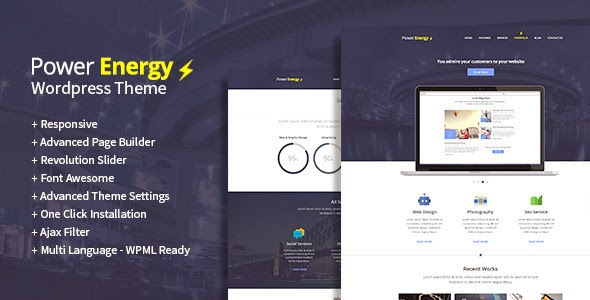 Premium WordPress Multipurpose Template