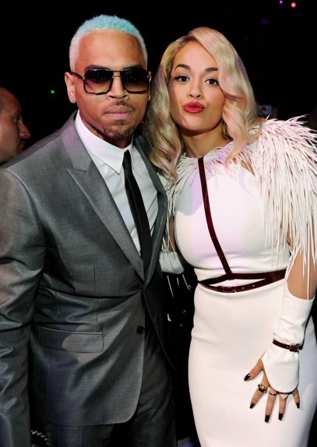 Rita Ora explica el porqué de su colaboración con Chris Brown