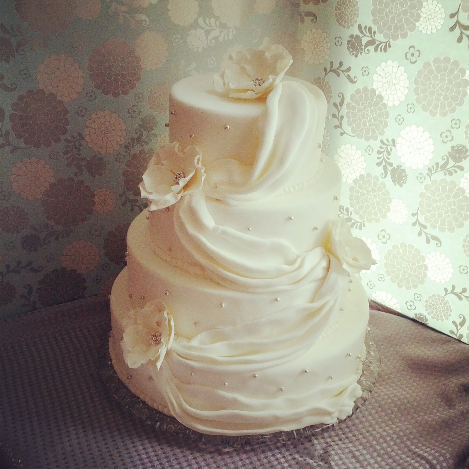 Second Generation Cake Design Simple Elegance Wedding Cake