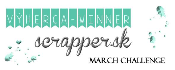 Scrapper winner march challenge