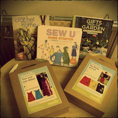 Clothkits and craft books