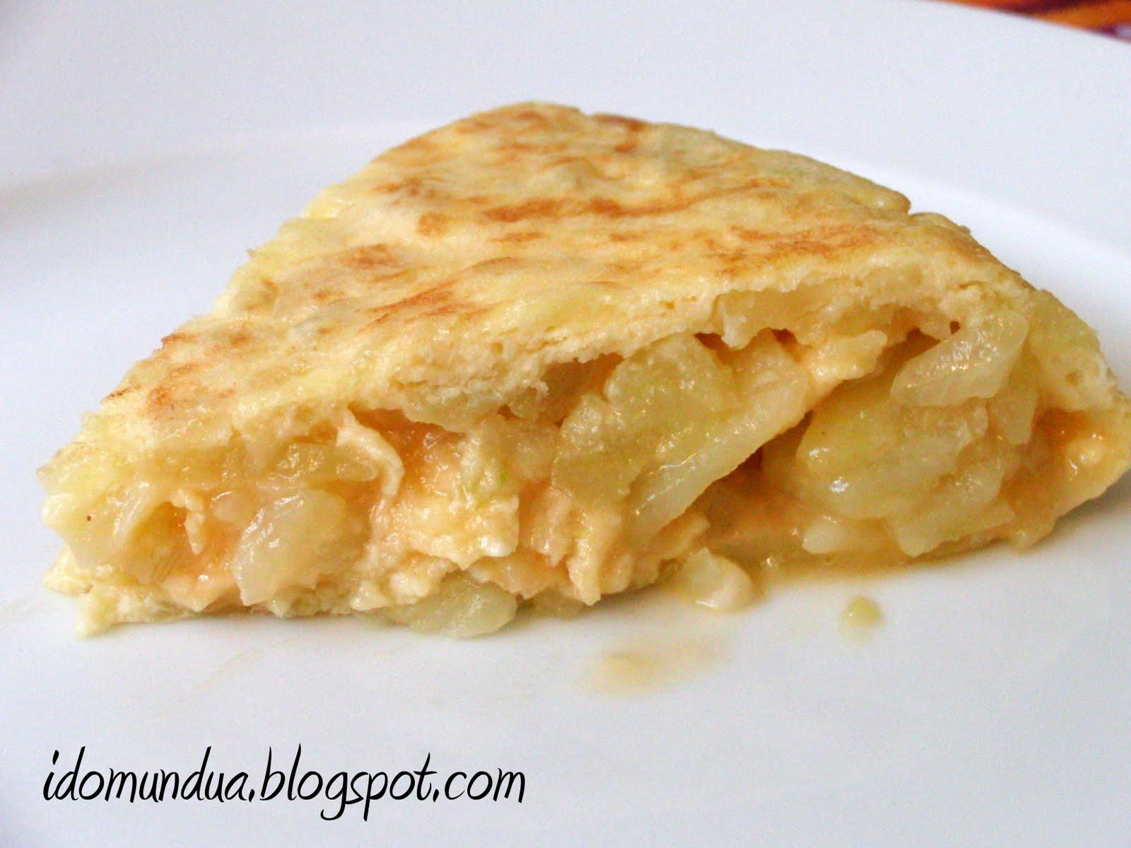 Tortilla De Patatas Aquí va mi tortilla de patata