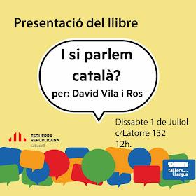 Presentació 'I si parlem català?' a Sabadell