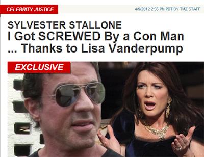 Sylvester Stallone Processa Prestador de Serviço Indicado por Lisa Vanderpump