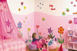 desain dan dekorasi kamar anak perempuan | rumah saya