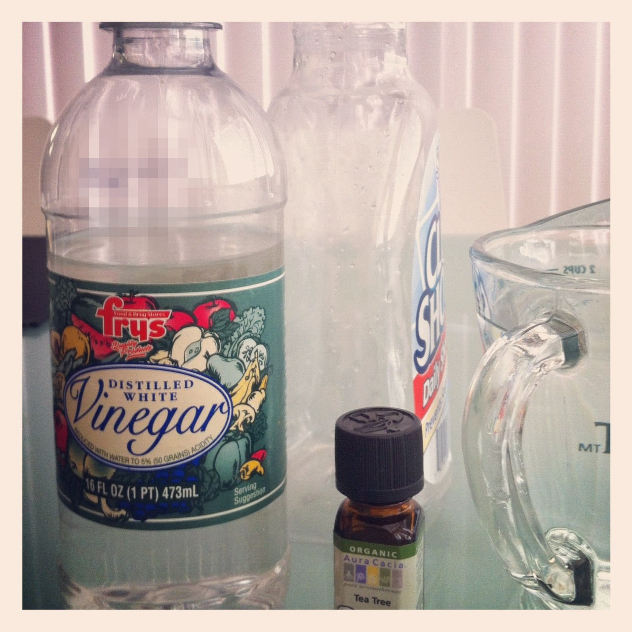 how to make vinegar and water cleaner smell better