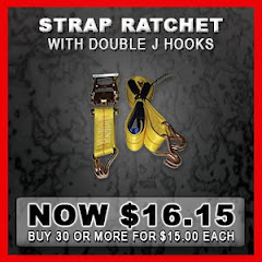 Straps for truckers, carhaulers, and autotransport
