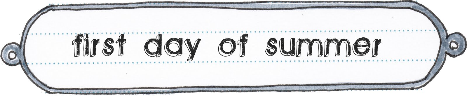 Diaper Style Memoirs: sashas diary - first day of summer