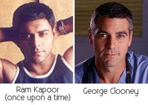 Ram Kapoor, George Clooney