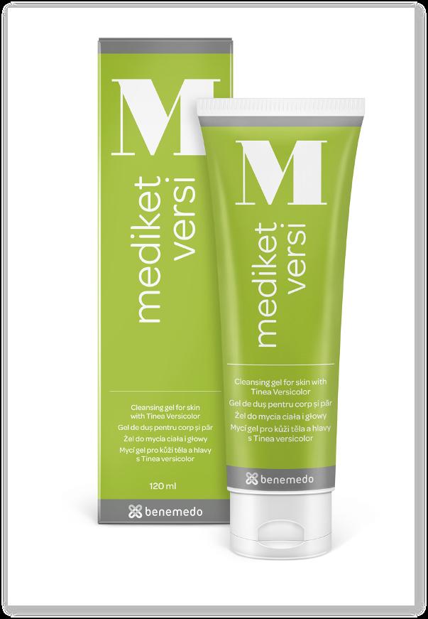 Mediket Versi - gel de dus pentru corp si scalp
