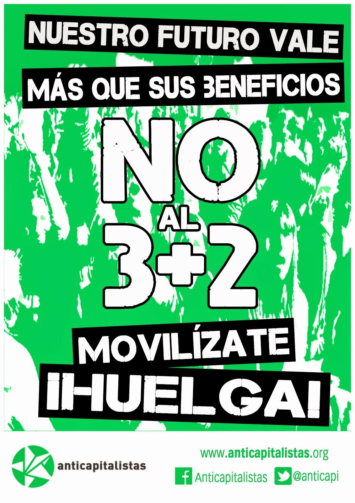 Huelga estudiantil el 25 y 26 de febrero