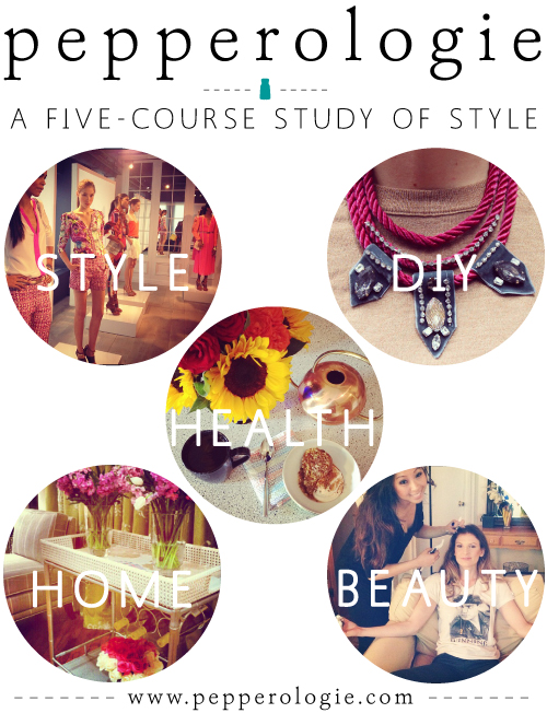 StyleAndPepperBlog.com : : Pepperologie // A Five-course Study of Style