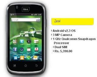 Idea Zeal price in India image