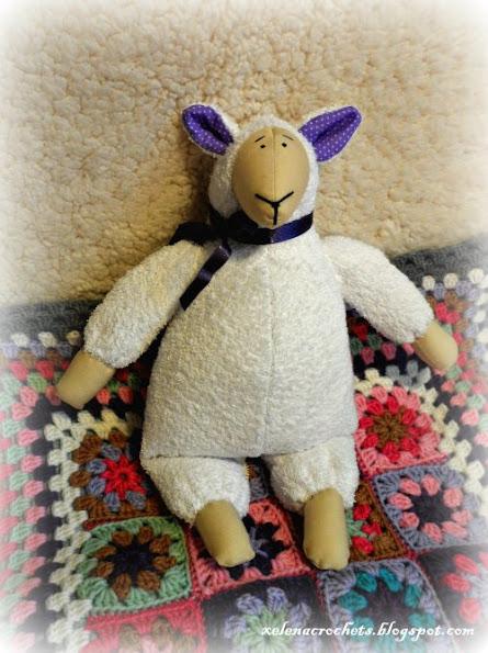тильда овечка tilda sheep