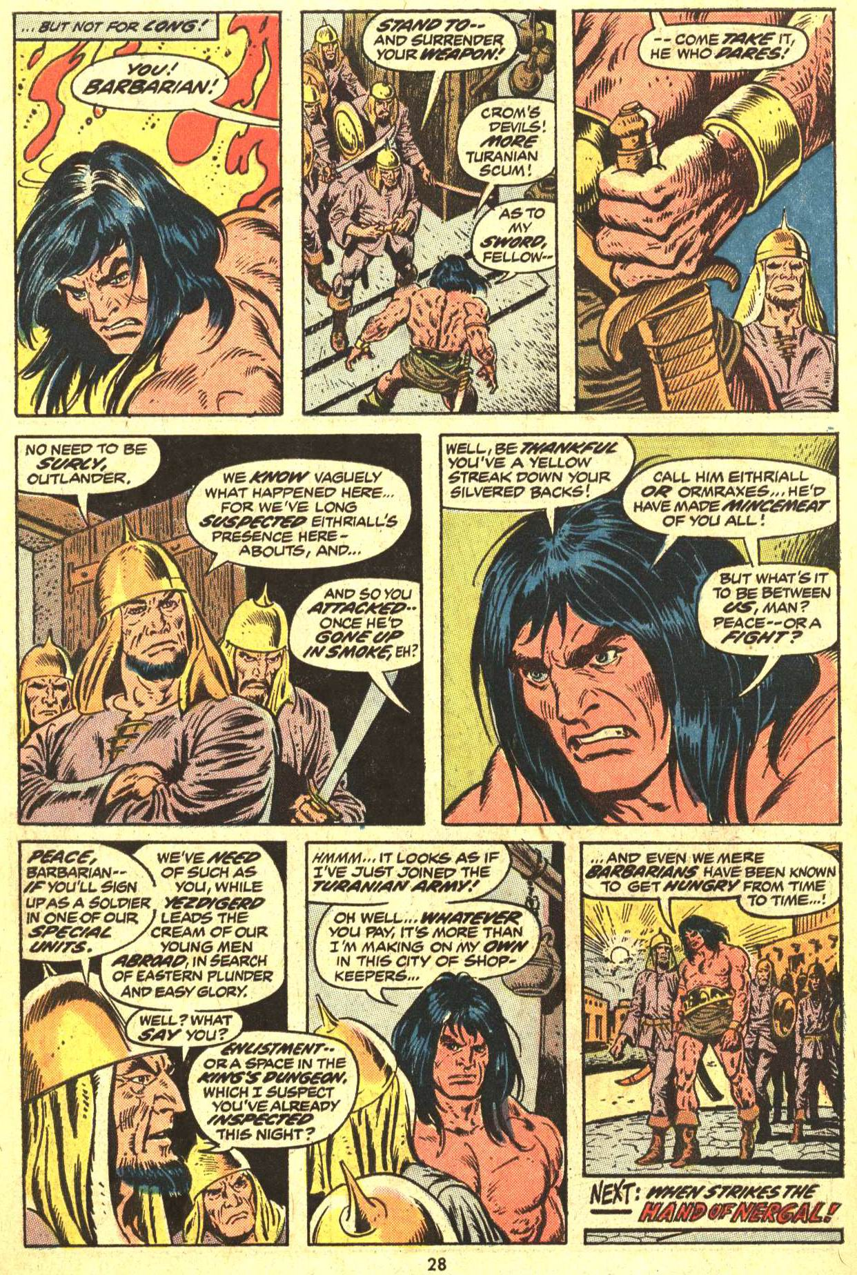 Conan the Barbarian (1970) Issue #29 #41 - English 21