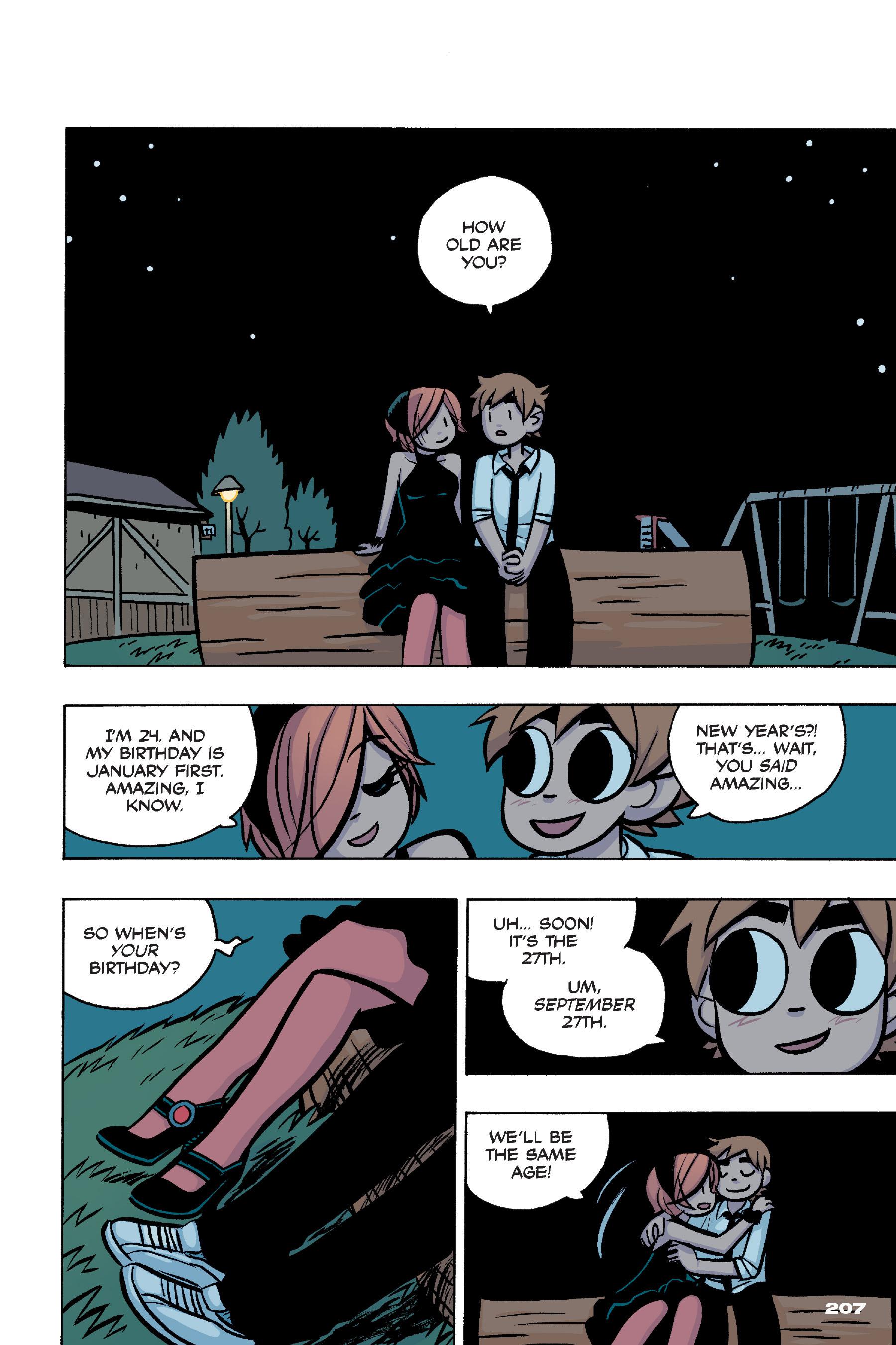Read online Scott Pilgrim comic -  Issue #4 - 202