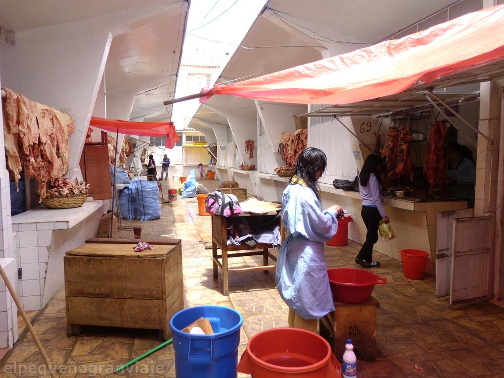 mercado potosi, bolvia