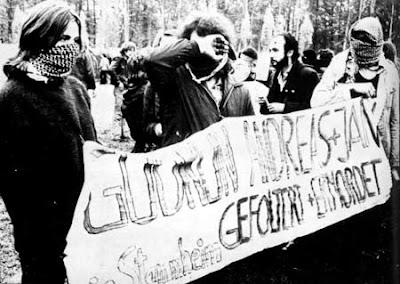 Ulrike Meinhof y la Fraccion del Ejercio Rojo Raf+funeral