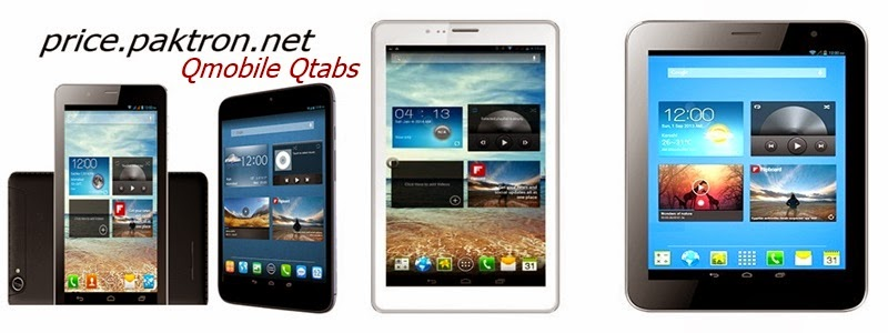 Qmobile Qtabs Prices