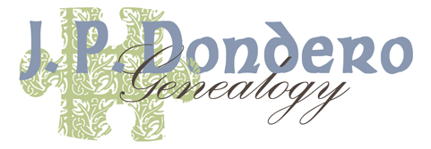 J.P. Dondero Genealogy Blog