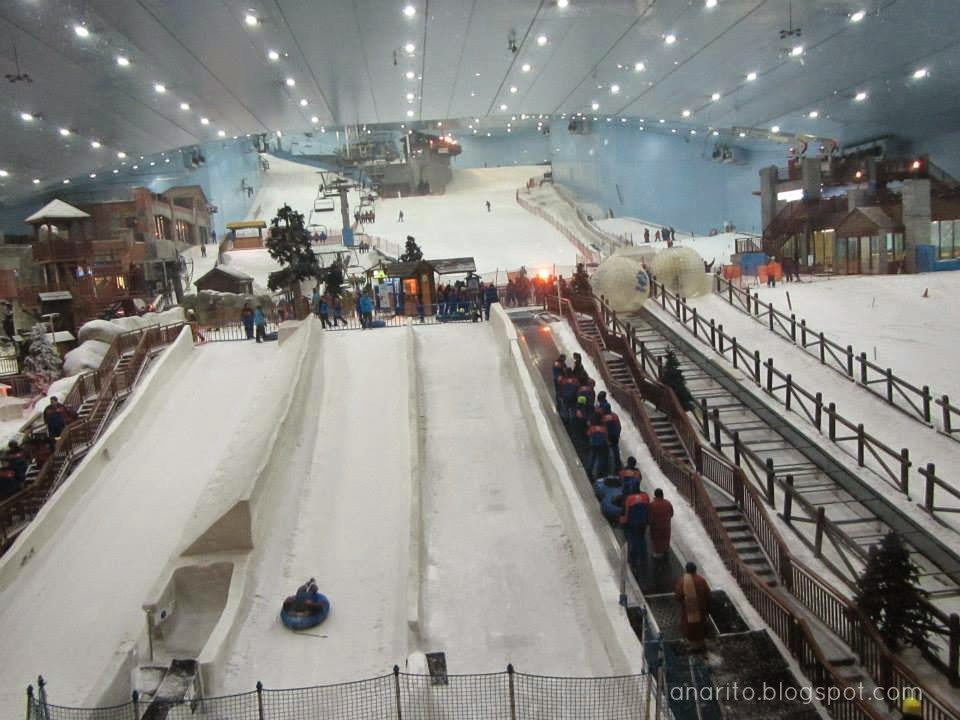Pista de Ski, no Mall of the Emirates, Dubai