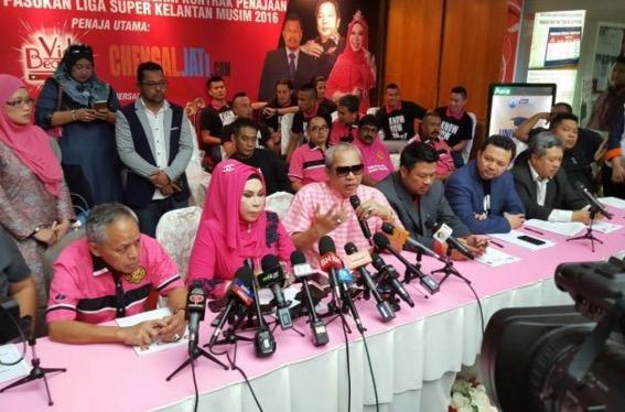 Dato Seri Vida nak buang simbol 'Nike' pada jersi utama Kelantan