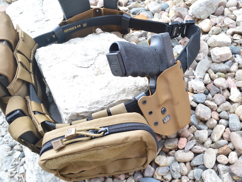 Tac Shield Gun Belt And Mag Pouch Review Custom Duty Belt Magazine Holder