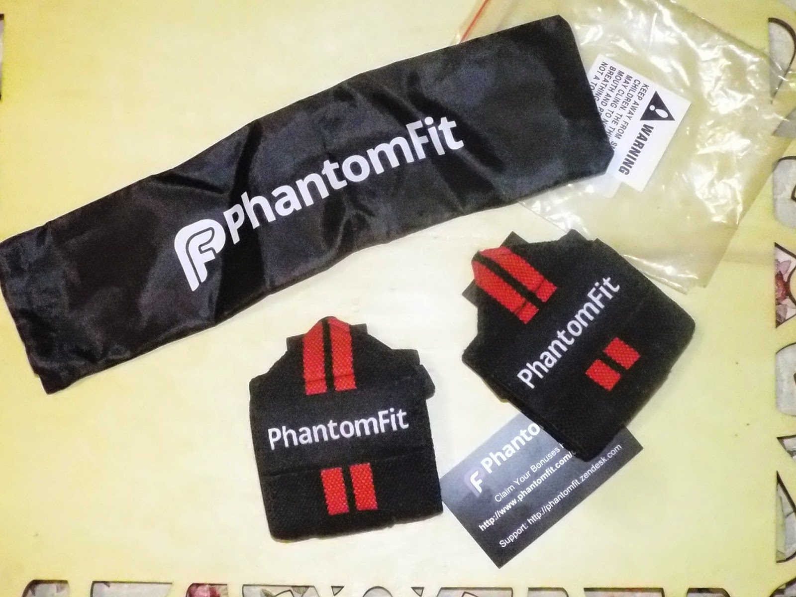 PhantomFit Wristbands Package