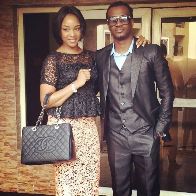Celebrity Couple: Mr and Mrs Paul Okoye Step Out In Style