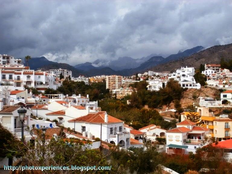 Casco urbano de Nerja. Town of Nerja.