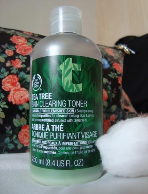 Review The Body Shop Tea Tree Toner
