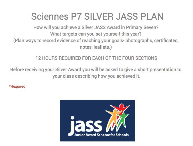 P7 JASS Planning